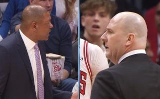 """""""Clippers"""" ir """"Bulls"""" strategai buvo pašalinti dėl apsižodžiavimo"""