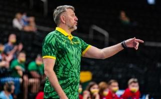 Maskoliūnas atskleidė savo požiūrį į galimą NBA bokštų duetą, turėjo gerų žinių dėl Kalniečio