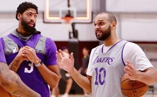 J.Dudley: Davisas ateinantį sezoną pretenduos į MVP titulą