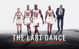 """""""Paskutinis šokis"""" - populiariausias dokumentinis filmas pasaulyje bei ESPN istorijoje"""