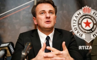 """""""Partizan"""" prezidentas: """"Olympiakos"""" prie Adrijos lygos turėtų prisijungti mažiausiai trejiems metams"""
