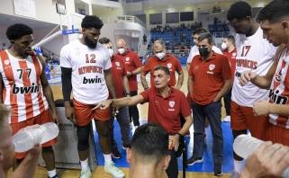 """Walkupas prie triuškinančios """"Olympiacos"""" pergalės prisidėjo perdavimais"""