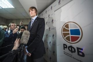 A.Kirilenka dar ketverius metus vadovaus Rusijos krepšiniui - prieš buvo tik vienas