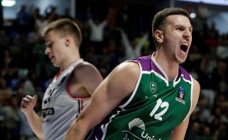Serbas D.Milosavljevičius praleis ne tik pasaulio čempionatą, bet ir visą sezoną