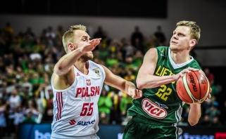 Užtikrintai rungtyniavę lietuviai sutriuškino ir lenkus (video komentarai)