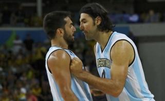 Benefisą surengęs veteranas Scola nukalė Argentinai pergalę Buenos Airėse