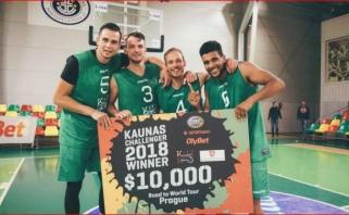 """""""Kaunas Challenger"""" turnyre triumfavo pasaulio vicečempionai iš Olandijos"""