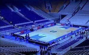 """""""Barcelona"""" pergalė Atėnuose pažymėta grasinimu susprogdinti areną"""