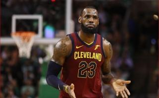 """Žvėrišką LeBrono šturmą atlaikę """"Celtics"""" dar kartą parklupdė """"Cavaliers"""""""