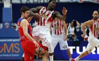 """CSKA palaužė """"Olympiakos"""" ir susigrąžino grupės lyderės poziciją"""