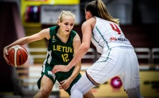 Grupės etapą Lietuvos U20 merginų rinktinė baigė pralaimėjimu