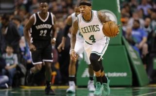"""NBA: """"Celtics"""" išstūmė """"Cavs"""" iš pirmos vietos, """"Warriors"""" pralaimėjo namie"""