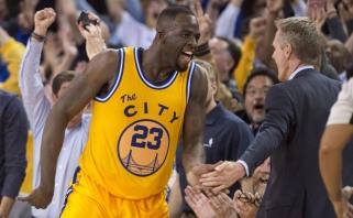 """Po kalėdinės nesėkmės """"Warriors"""" treneris: tai normalu; D.Greenas: aš viską sugadinau"""
