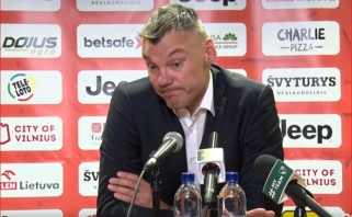 Š.Jasikevičius: žaidėjai pajautė kas yra derbis; D.Adomaitis: tai - blogiausios sezono rungtynės