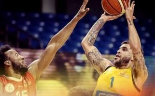 """Su ugnimi vėl žaidusi """"Maccabi"""" iškopė į finalą pergalingu S.Wilbekino metimu"""