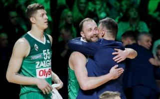Taurę apsikabinęs Š.Jasikevičius: mes to nusipelnėme (komentarai)