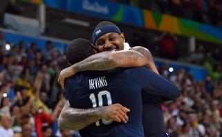 Po laimėto finalo C.Anthony emocionaliai prabilo apie karjeros rinktinėje pabaigą