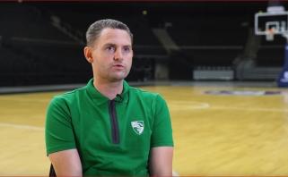 """Naujasis """"Žalgirio"""" strategas: natūralu, kad bus europietiško ir amerikietiško krepšinio mišinys"""