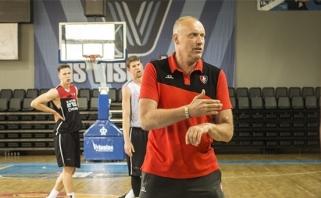 R.Kurtinaitis: padarėme pirmą žingsnį ir vėl treniruosimės