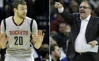 """""""Pistons"""" treneris rėžė D-Mo: nori eiti į teismą? Aš tau nepavydžiu"""