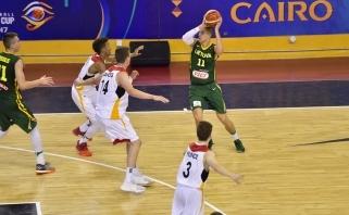 Lietuvos devyniolikmečiai pergale pradėjo Pasaulio čempionatą