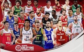 Paaiškėjo lietuvių galimų varžovų sąrašas olimpiniame atrankos turnyre