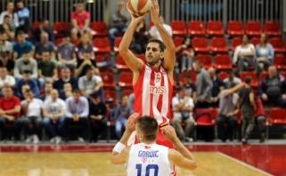 """""""Crvena Zvezda"""" - per žingsnį nuo sugrįžimo į Eurolygą"""