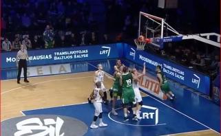 """""""Žalgiris"""" neturėjo didesnių problemų KMT pusfinalyje su """"Lietkabeliu"""""""