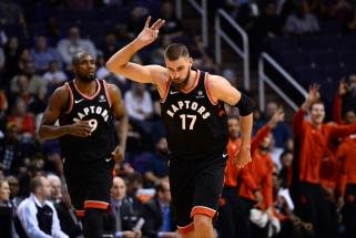 NBA: D.Sabonis pasirodė nekaip, J.Valančiūnas vėl mėto iš toli