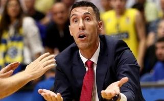 """P.Prigioni trenerio karjeros pradžia nenusisekė - argentinietis paliko """"Baskonia"""""""