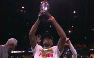 K.Leonardas - trečiasis NBA finalo MVP juo tapęs su skirtingomis komandomis