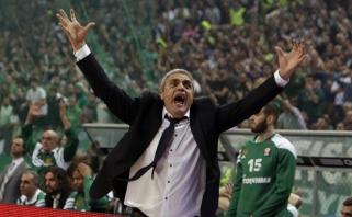 """Prieš kelionę į Kauną """"Panathinaikos"""" atleido vyriausiąjį trenerį"""