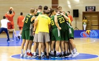 Europos jaunimo olimpiniame festivalyje lietuviai įveikė graikus ir užėmė penktą vietą