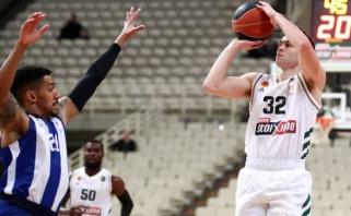 """""""Panathinaikos"""" Graikijos pirmenybėse įjungė NBA režimą"""