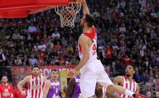 """Ispanijos ir Graikijos čempionų dvikovoje triumfavo """"Real"""" su J.Mačiuliu"""