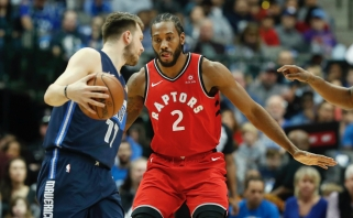 """NBA – po slovėno kojomis: mače su """"Raptors"""" Dončičius pagerino dar vieną lygos rekordą"""