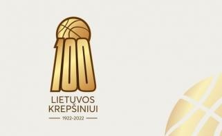 Sabonis pristatė specialų logotipą Lietuvos krepšinio šimtmečiui įamžinti