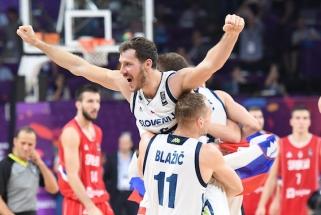 """""""Eurobasket 2017"""" MVP G.Dragičius visgi baigė karjerą Slovėnijos rinktinėje"""