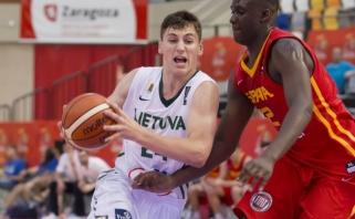 Trejus metus Ispanijoje rungtyniavęs jaunasis talentas T.Balčiūnas žais Mažeikiuose