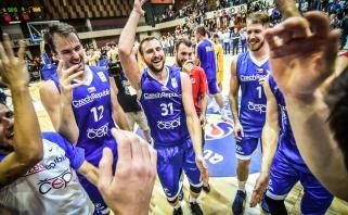 Čekijos krepšinio šventė: rinktinė pirmą kartą pateko į pasaulio čempionatą