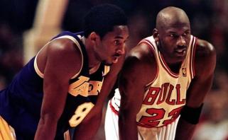 T.Kukočas: Kobe buvo Jordano kopija, o pastarasis - gamtos stebuklas