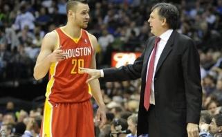 """K. McHale'as TV eteryje D.Motiejūną pavadino antru svarbiausiu """"Rockets"""" žaidėju"""