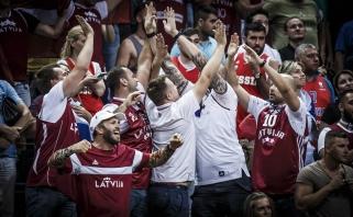 Latviai permainingoje kovoje palaužė rusus (video)