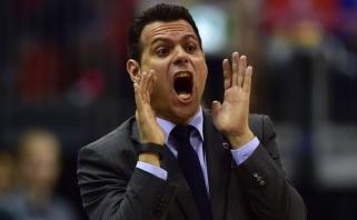 """D.Itoudis gali palikti CSKA trenerio postą, jei bus pralaimėta """"Barcelonai""""?"""