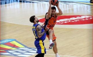 """""""Maccabi"""" absurdiškai pralaimėjo rungtynes Valensijoje"""