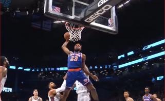 NBA Top 10 viršūnėje - S.Curry perdavimas L.Dončičiui ir M.Robinsono dėjimas