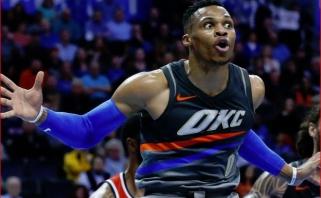 R.Westbrookas: paskutinį mėnesį žaidžiau mėšlinai