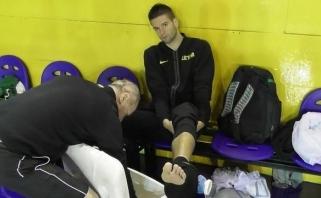 Rinktinė treniruojasi Argentinoje - vis dar be  M.Kalniečio (video)
