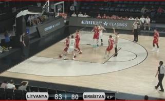 Lietuviai turnyre Turkijoje palaužė serbus
