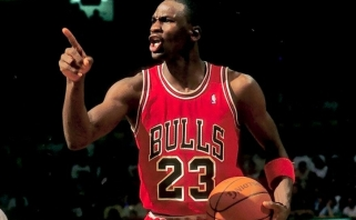Prieš 30 metų: rezultatyviausios M.Jordano karjeros rungtynės